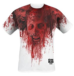 Camiseta The Walking Dead - Walkers In Face Stain Full Printed