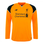 Camiseta Liverpool FC 2016-2017 Away (Laranja)
