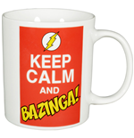 Big Bang Theory Taza Keep Calm and Bazinga