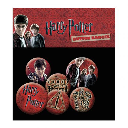 Pack Broches Harry Potter