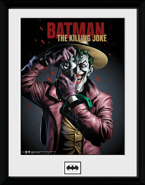 Póster Batman Killing Joke Moldurado