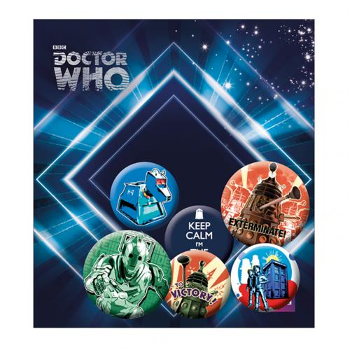 Broche Doctor Who 220769