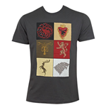 Camiseta Jogo de Poder Soberano (Game of Thrones) House Squares