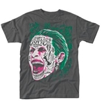 Camiseta Suicide Squad Joker Tattooed Face