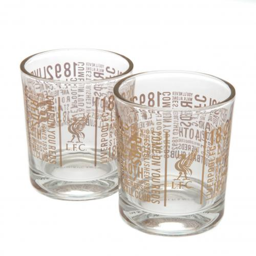 Set Copos de whiskey Liverpool FC
