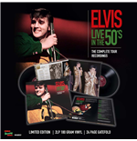 Vinil Elvis Presley - Live In The 50's - The Complete Tour Recordings (2 Lp +24 Page Gatefold)