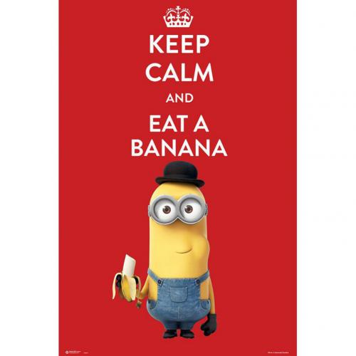 Póster Minions - Keep Calm 214