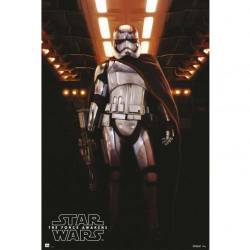 Póster Star Wars The Force Awakens Captain Phasma 204