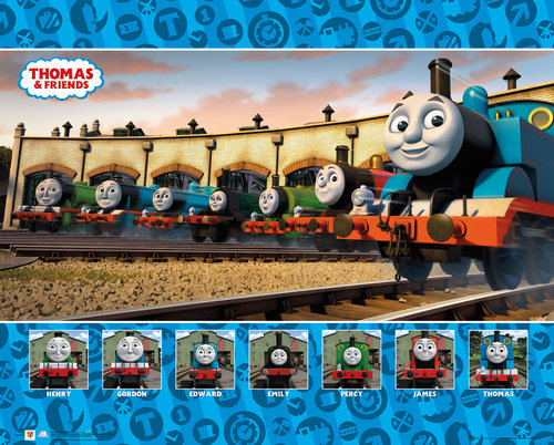 Poster Thomas and Friends 223562