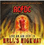 Vinil Ac/dc - Hell's Highway   Live On Air 1974 '79 Orange Vinyl