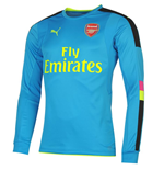 Camiseta Arsenal 2016-2017 Away (Azul escuro)