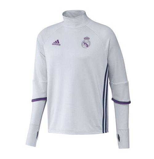 Compra Suéter Esportivo Real Madrid 2016-2017 (Branco) Original 9038883735ad3