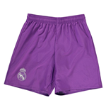 Shorts Real Madrid 2016-2017 Away (Roxo)