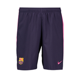 Shorts Barcelona 2016-2017 Away (Roxo)