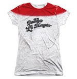 Camiseta Suicide Squad de mulher arley Quinn Daddy's Little Monster