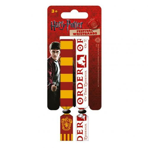 Pack Pulseiras Harry Potter