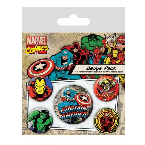 Broche Marvel Superheroes 228994