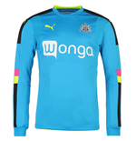 Camiseta manga comprida Newcastle 2016-2017 Away (Azul escuro)