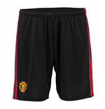 Shorts Manchester United FC 2016-2017 Home (Preto)