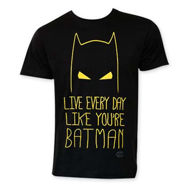 Camiseta Batman Live Everyday Like BATMAN