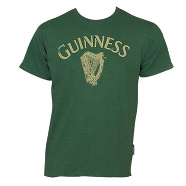 Camiseta Guinness Distressed Harp