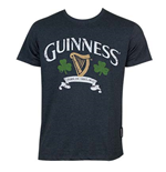 Camiseta Guinness Distressed Harp And Clover