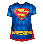 Camiseta Superman com capa