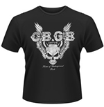 Camiseta CBGB Skull Wings
