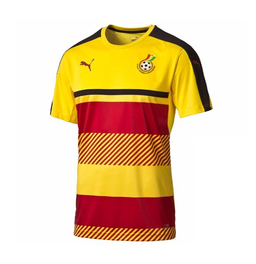 Camiseta Gana futebol 2016-2017 Original  Compra Online em Oferta 971cf8ee08cd7