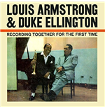 Vinil Louis Armstrong & Duke Ellington - Recording Together For The First Time