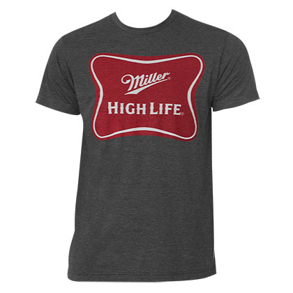 Camiseta Miller Beer High Life Logo