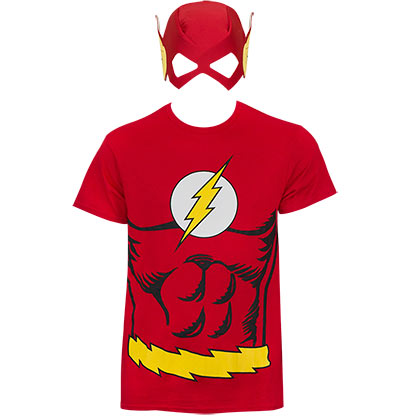 Camiseta Fantasia Flash