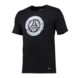Camiseta Paris Saint-Germain 2016-2017 (Preto)