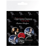 Pack Broches The Vampire Diaries - Stefan & Damon