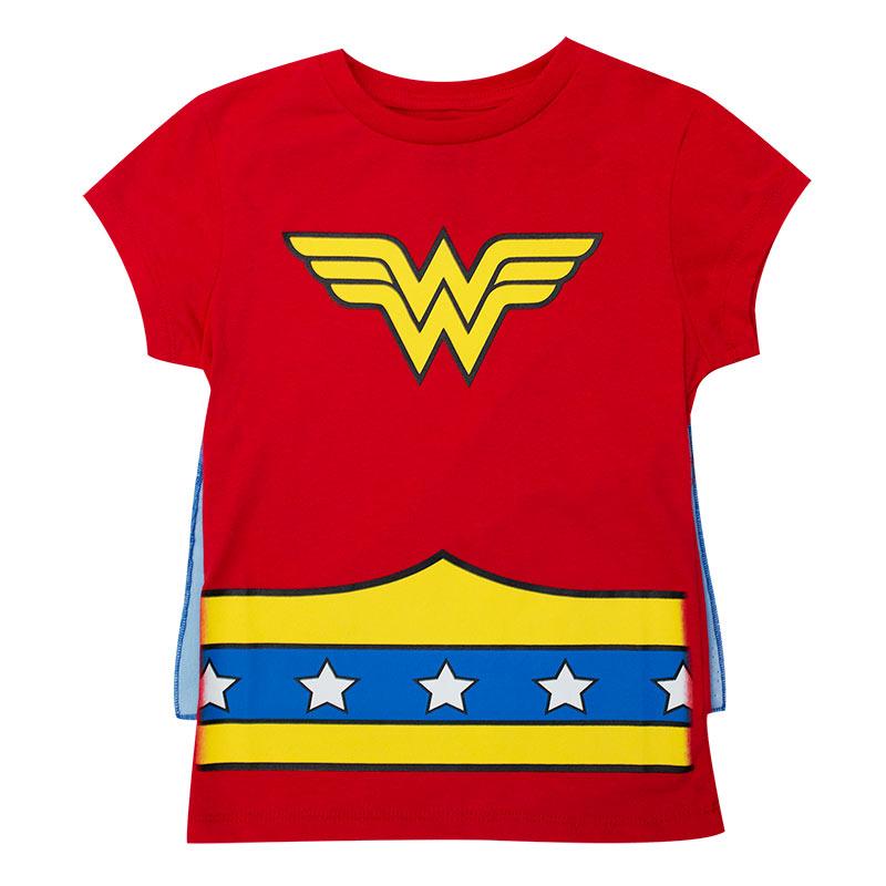 2db926d0c Camiseta Mulher Maravilha de menina Camiseta Mulher Maravilha de menina ...