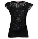 Camiseta Spiral Entwined Skull