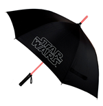 Star Wars Guarda-chuva com luz sable laser