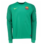 Camiseta Barcelona 2016-2017 Away (Verde)