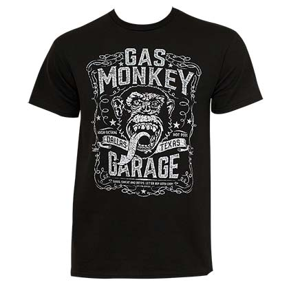 Camiseta Gas Monkey Garage Dallas Texas