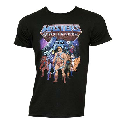Camiseta Masters Of The Universe Graphic Logo