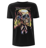 Camiseta Megadeth Flaming Vic