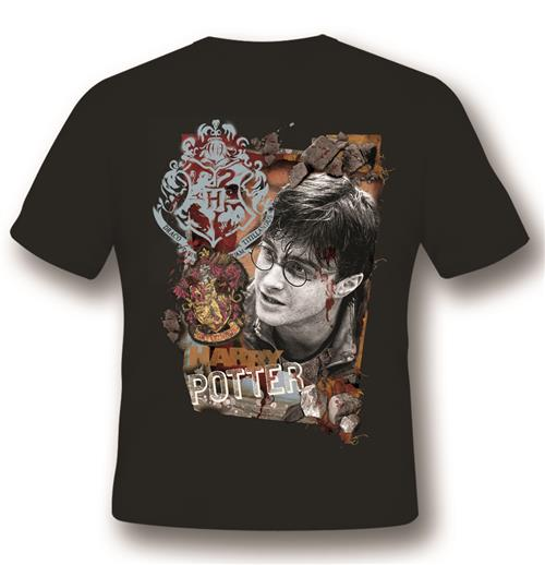 Camiseta Harry Potter Titillandus Black