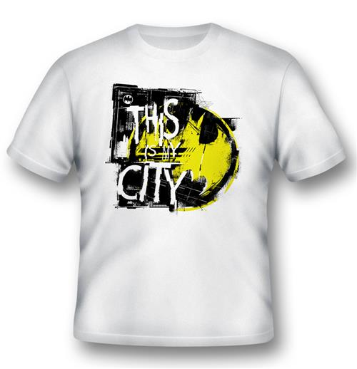 Camiseta Batman This Is My City