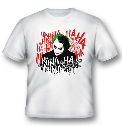 Camiseta Batman JOKER'S Laugh