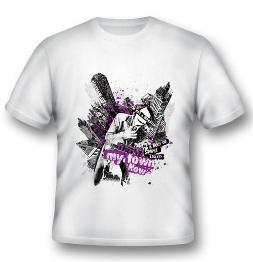 Camiseta Batman Joker This Is My Town
