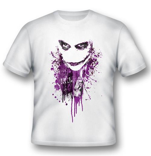 Camiseta Batman Joker Purple