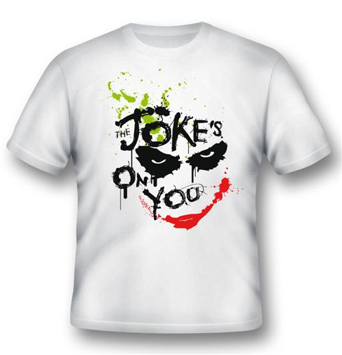 Camiseta Batman Joker Jokes On You