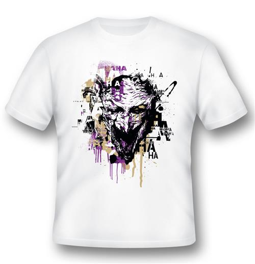 Camiseta Batman Joker Illustration
