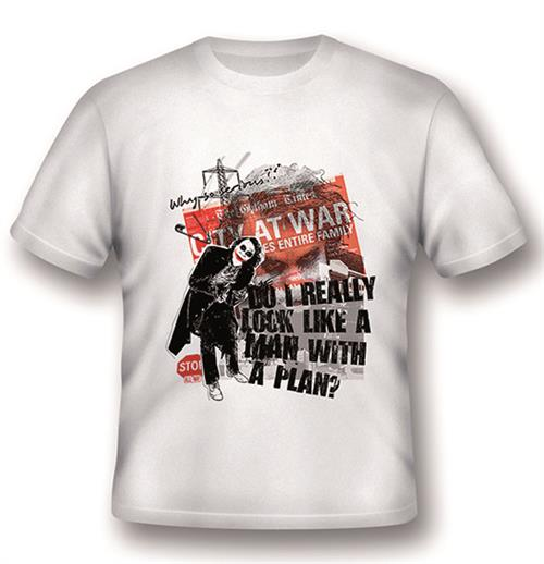 Camiseta Batman Joker A Man With A Plan