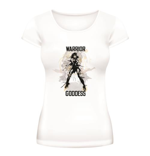 Camiseta Batman V Superman Warrior Goddess de mulher